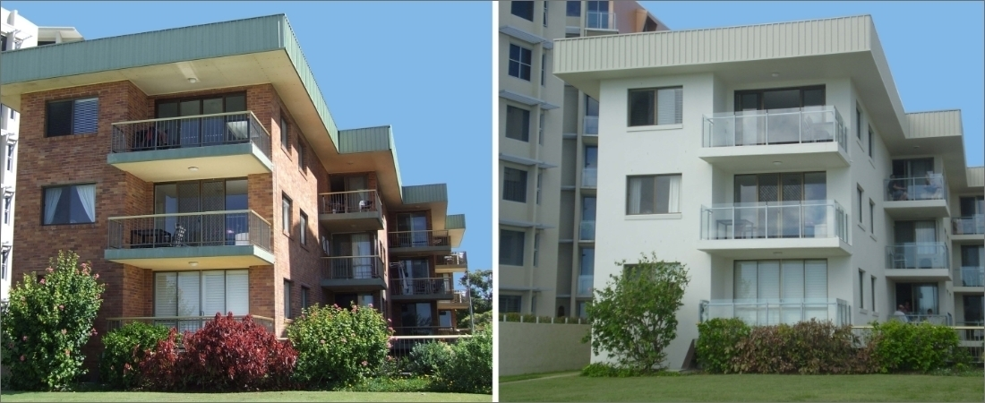 Allawah Apartments Before and After