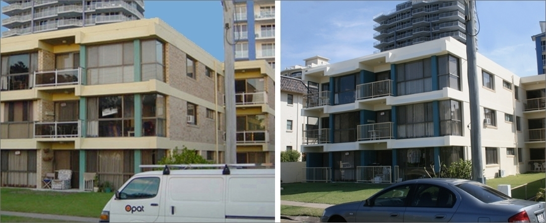 Kelforth Apartments Before and After